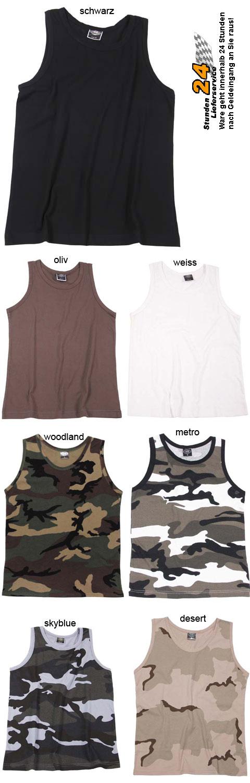 US-Army-Tarn-Tank-Top-Tanktop-Shirt-Muskelshirt-Achselhemd-7-Farben-S-XXXL