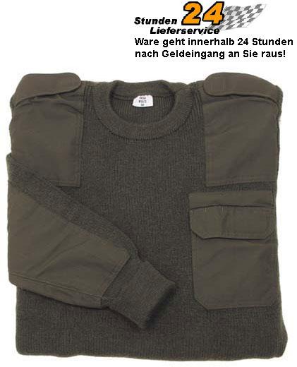 ORIGINAL-BW-Bundeswehr-PULLOVER-oliv-46-48-50-52-54-56