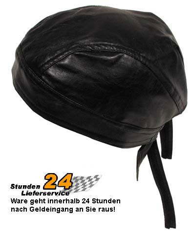 Biker-Harley-Bandana-Kopftuch-Headwrap-Tuch-schwarz