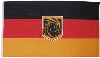 Flagge-DEUTSCHLAND-DIENSTFLAGGE-Fahnen-Flaggen-Fahne
